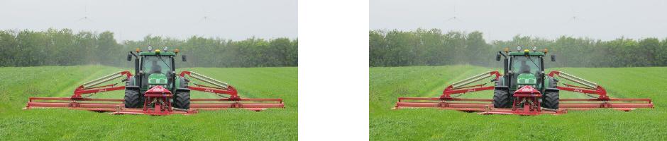 Traktor i marken